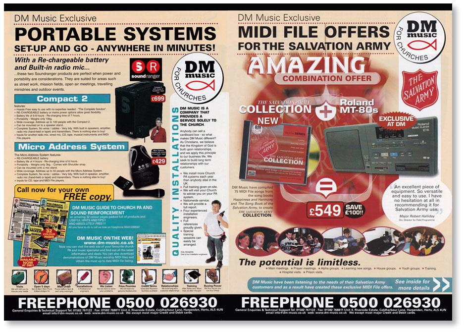 DM Music Catalogue 1