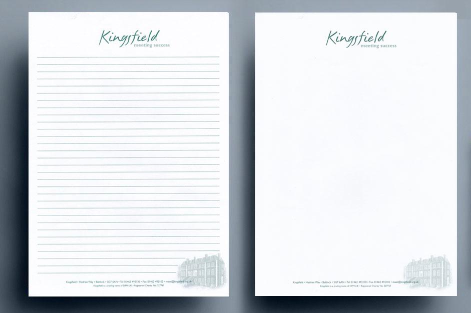 Kingsfield-letterhead