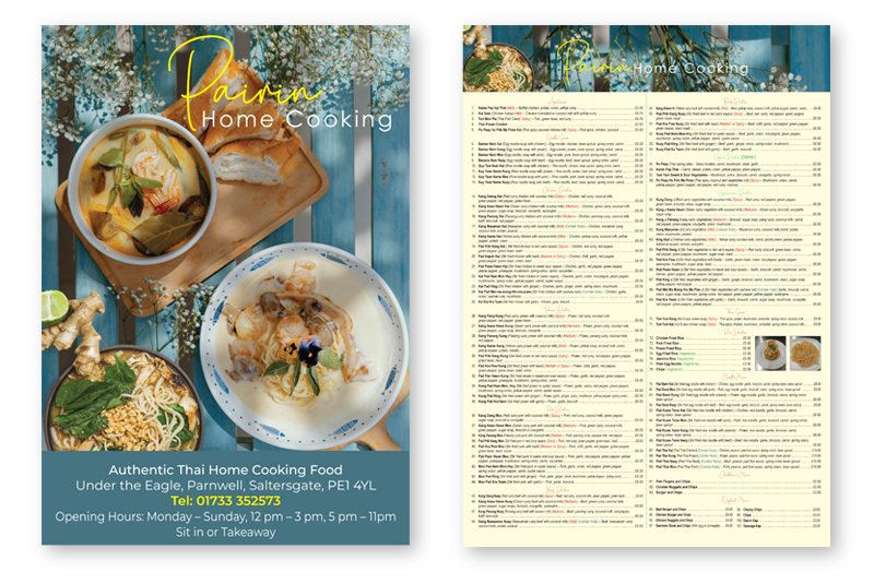 Pairin home cooking posters